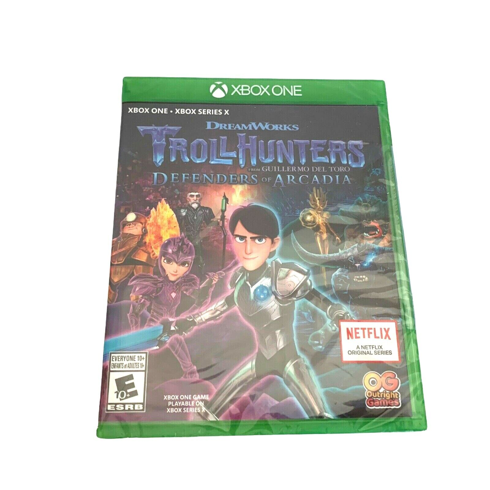 Troll Hunters Defenders Of Arcadia Microsoft Xbox One New Sealed Fast Shipping