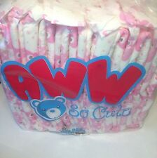 Awwsocute Pink OOS Large Opened 8 Pk ABDL AB/DL Diapers Adult Baby Diaper Lover