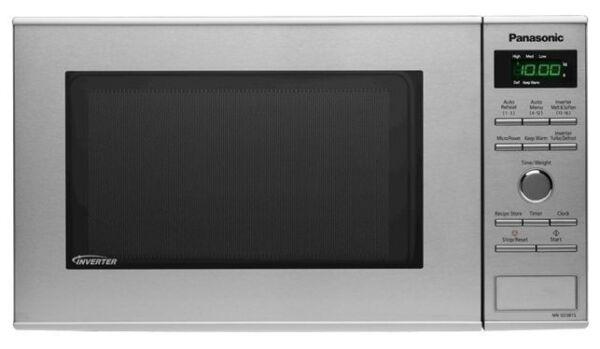Panasonic 950w 23l Inverter Microwave Stainless Steel Nn Sd381s For Online Ebay