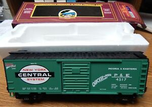 MTH-20-93024-NEW-YORK-CENTRAL-NYC-BOX-CAR-USED-IN-BOX-O-SCALE-NICE-LQQK