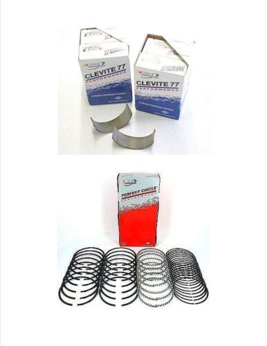 Ford 6.0L Powerstroke Diesel Clevite Connecting Rod Bearings /& Piston Ring Kit