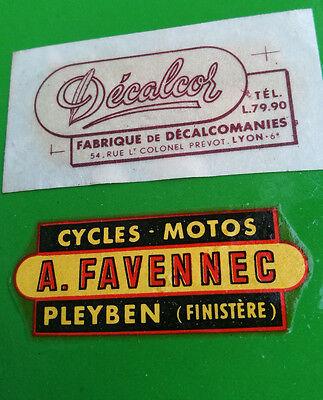 Vast Transfert Concessionnaire Moto Motobecane Mobylette Velo Favennec Pleyben 29