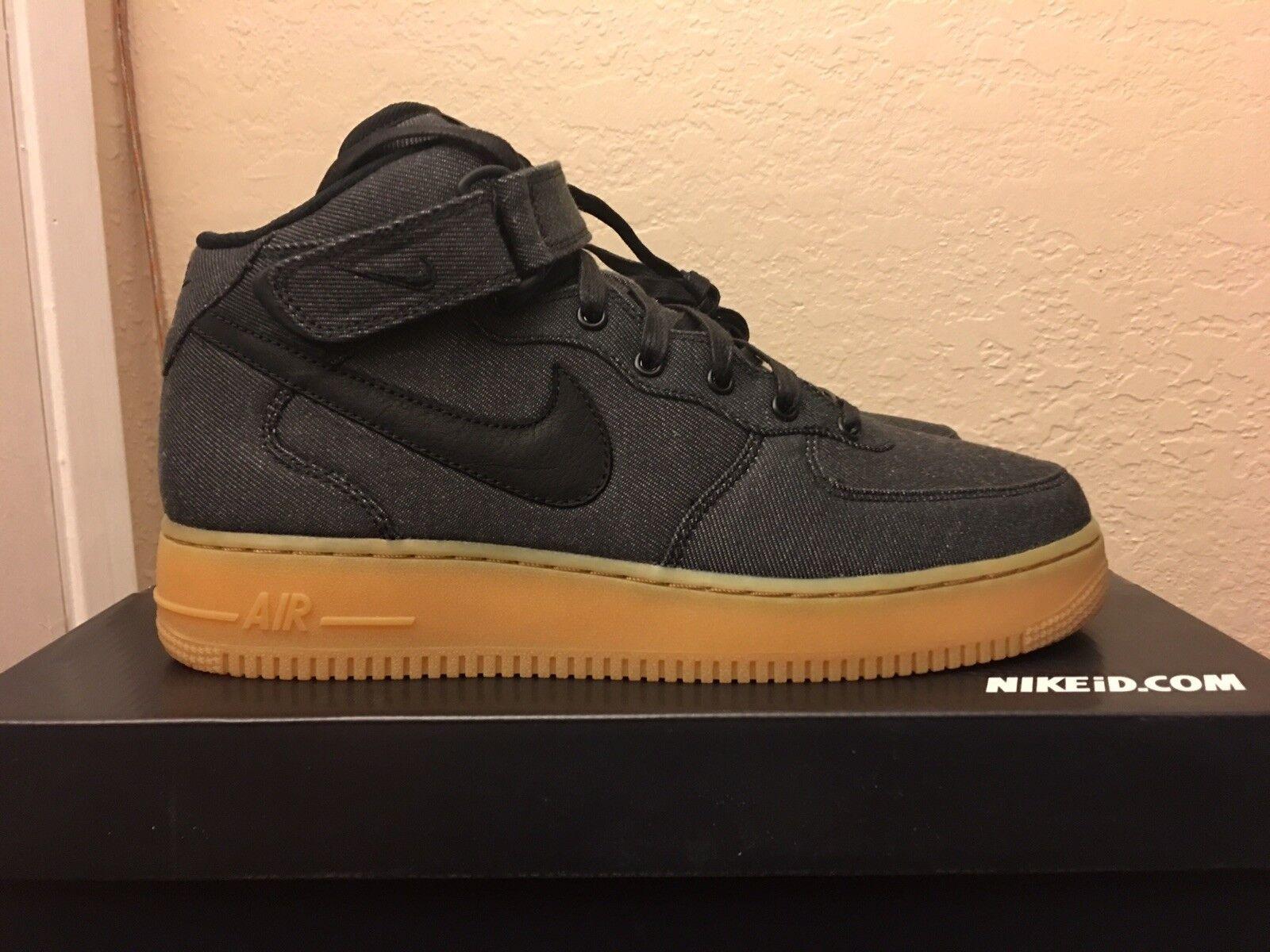 Nike Levis Air Force 1 Mid Levis Nike Jordan Flax Gum Levi Wheat Yeezy Ultra Boost 10.5 dc1870