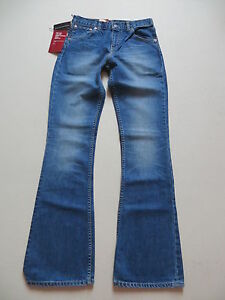 Levi-039-s-525-Slim-Bootcut-Jeans-Hose-W-27-L-34-NEU-70-flared-Schlaghose-RAR