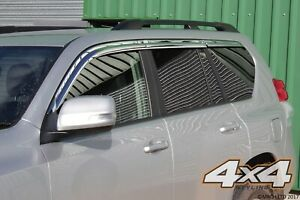Auto-Clover-Chrome-Wind-Deflector-Set-for-Toyota-Land-Cruiser-150-2009-2015-6