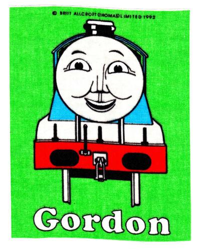 Thomas the train fabric applique iron on tank green gordon 7 inch