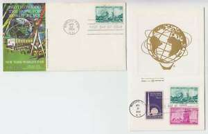 C0624 : (3) 1964 Ny World 'S Fair Housses + Dossier
