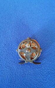 Vintage Pflueger Progress 60yd. Brass fly reel.