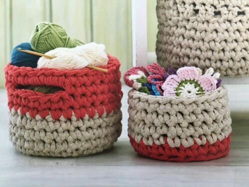 Structured Baskets 0072 Crochet Pattern