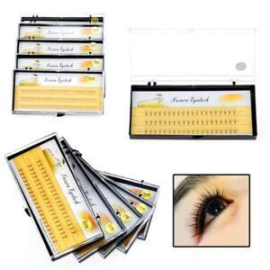 Individual-4D-Wave-Mink-0-07-C-Silk-Eyelashes-Extension-False-Eye-Lashes-Black