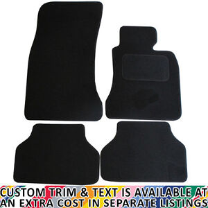 Bmw E60 5 Series Auto 2003 2010 Fully Tailored 4 Piece Car Mat Set With Fixings Ebay