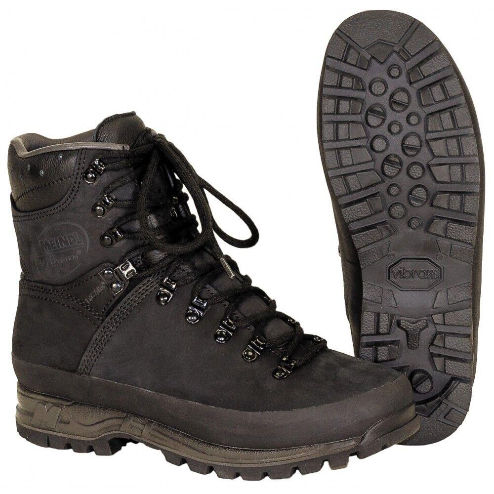 Holl. Bergstiefel MEINDL Gore-Tex schwarz Stiefel Bergschuhe Wanderschuhe Schuhe