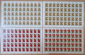 Bund-1150-1153-postfrisch-BRD-Bogen-Satz-Michel-250-Full-sheet-MNH-FN-1-2