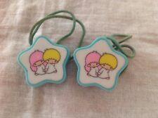 Vintage Sanrio Little Twin Stars Ponytail Hair Holders