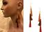 thumbnail 1 - TOPSHOP LONG EARRINGS CHAIN & TASSEL FRINGE EARRINGS NEW BOHO