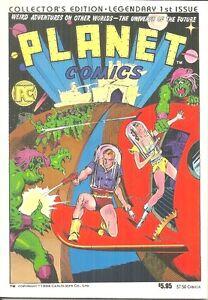 PLANET-COMICS-1940-FICTION-HOUSE-SCIENCE-FICTION-PACIFIC-COMICS-1984-REPRINT