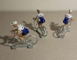 Lot de 3 cyclistes miniatures Equipes 2020 Tour de france Cycling figure