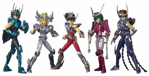 Saint Cloth Myth Saint Seiya 5 BRONZE SAINT Set Action Figure BANDAI from Japan
