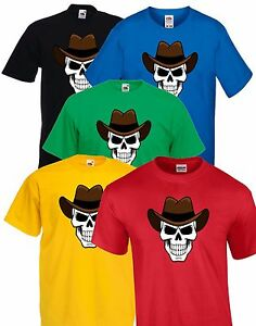 Evil-Cowboy-Cartoon-Skull-Halloween-Party-T-Shirt-Costume-Childrens-Kids