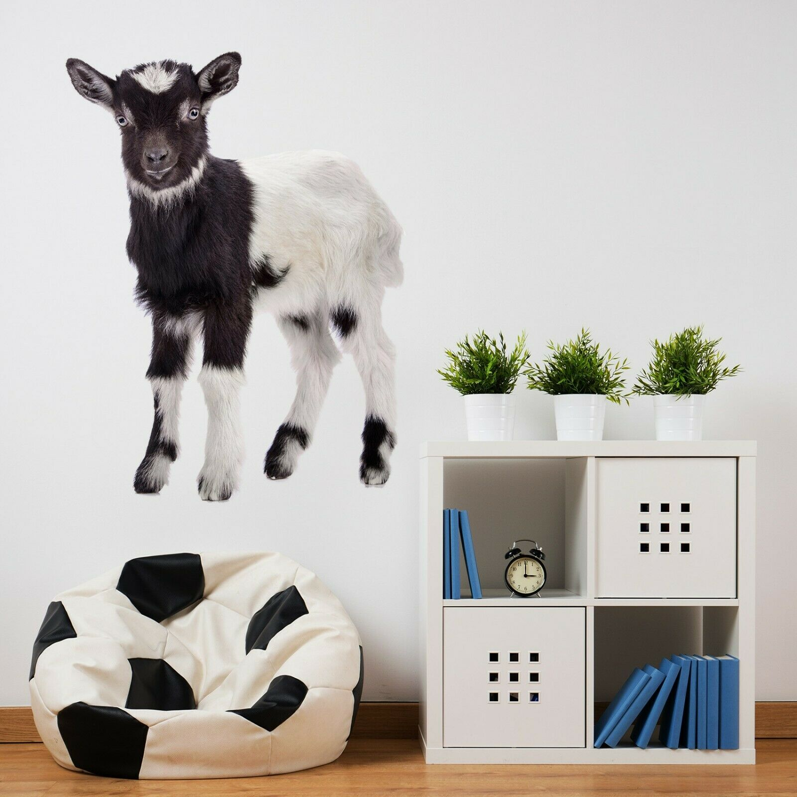 3D Sheep O123 Animal Wallpaper Mural Poster Wall Stickers Decal Ange