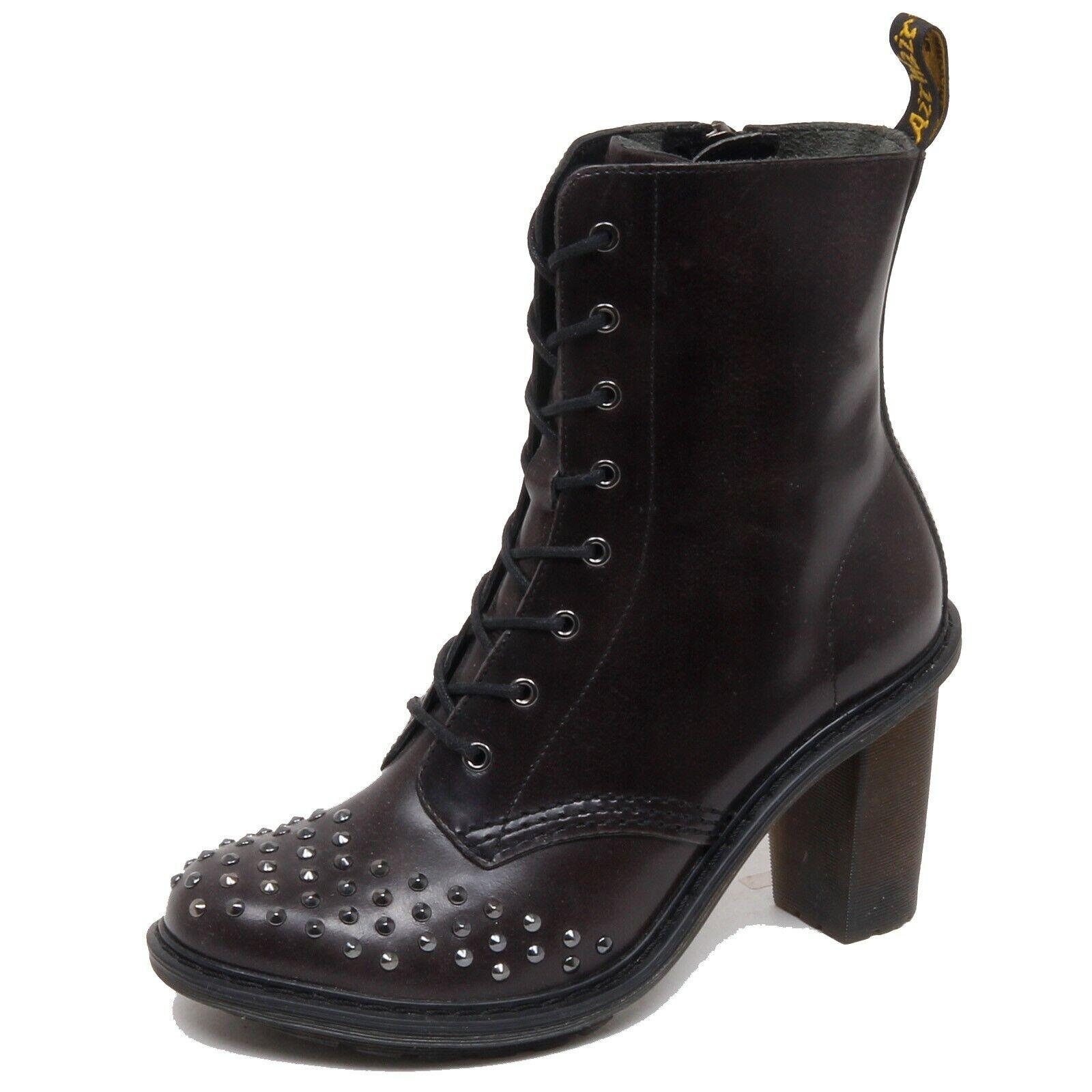 F3600 (no Box) stivaletto mujer dark marrón Dr. Martens Zoie bota zapatos Woman