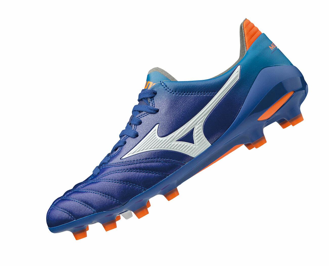 Mizuno morelia neo 2 japón p1ga195101 cuero botas de futbol profesional nuevo