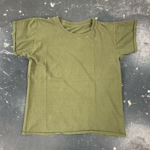 US Military 1/4 Sleeve Undershirt OG107 Green Basi