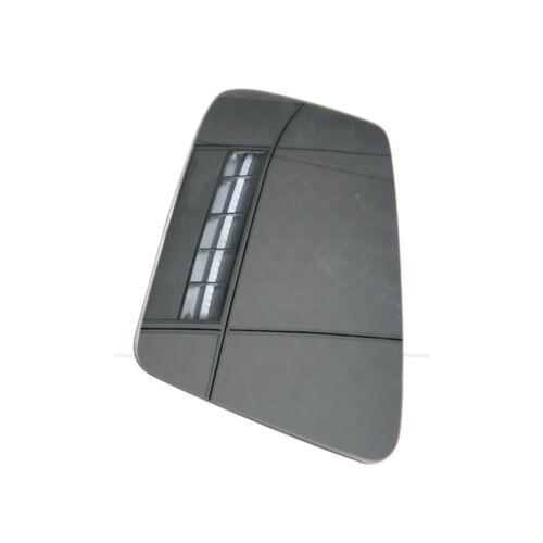 Left Door Side Heated Wing Mirror Glass Fit Mercedes-Benz S//C//E-Class W212 W204
