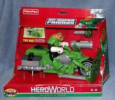 HEROWORLD DC SUPER FRIENDS KILOWOG & CYCLE SET