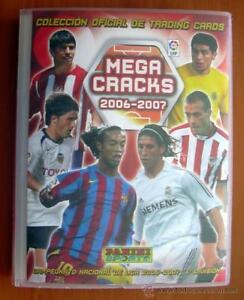 COLECCION-COMPLETA-MEGACRACKS-2006-2007-PANINI-569-FICHAS-ARCHIVADOR