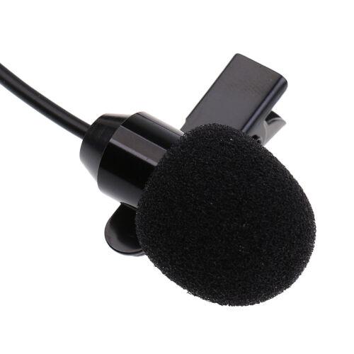 Omnidirektionales Mikrofon Kondensator Lavalier Ansteckmikrofon für Geige