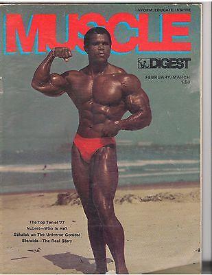 MUSCLE DIGEST bodybuilding workout magazine/SERGE NUBRET 3-78