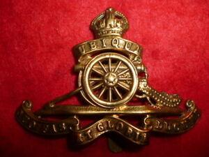 The-Royal-Regiment-of-Artillery-King-039-s-Crown-Brass-Cap-Badge