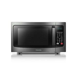 Details About Toshiba 1 5 Cu Ft Stainless Steel Convection Microwave Oven Ec042a5c Chss