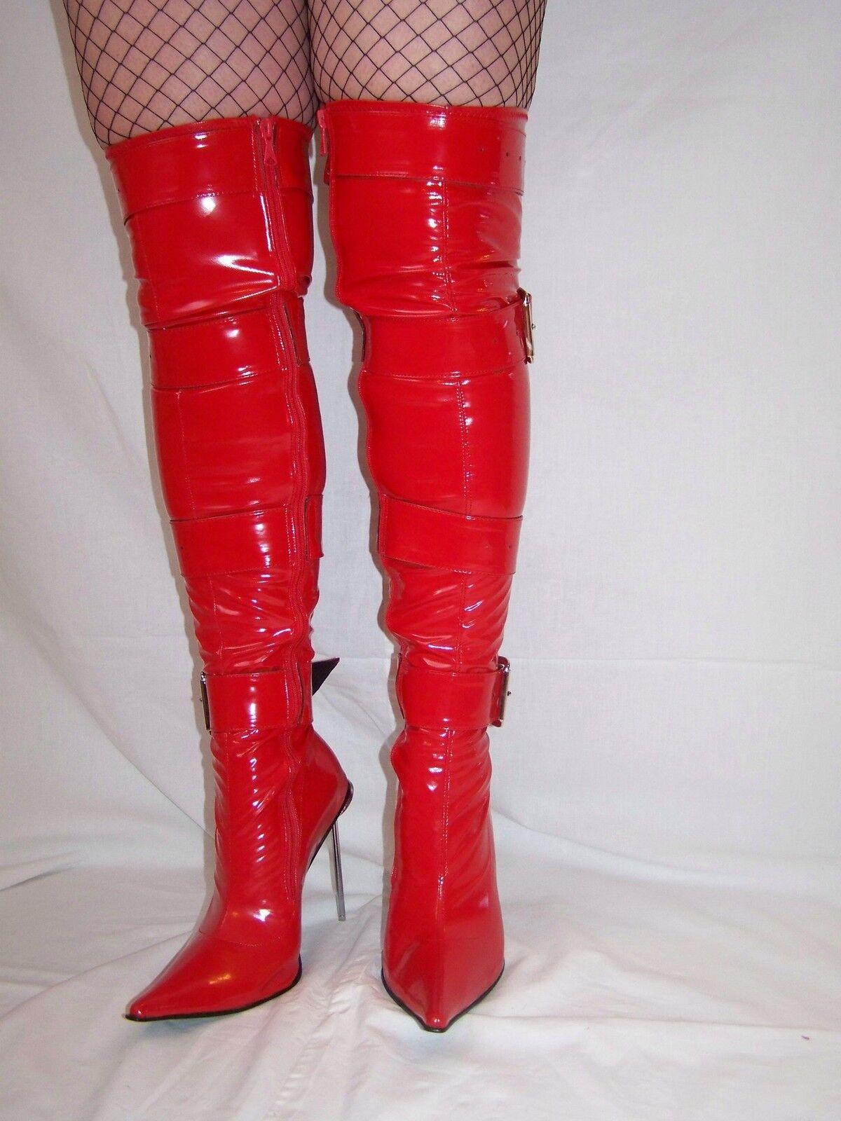 High heels, stiefel -Größe -lack-pu stretch -Größe stiefel 35-47 producer -Polen heel -13cm fd5854