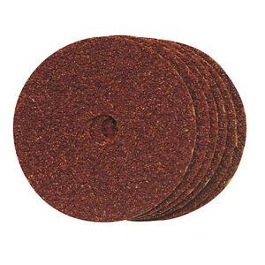 0qty 10-ponçage/fibre, Disques 100 Mm X 16 Mm Grain 60-afficher Le Titre D'origine