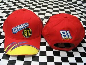 Dale Earnhardt Jr  81 Oreo   Ritz Busch Series Hat - NASCAR - Chase ... d3b544f3b1f6