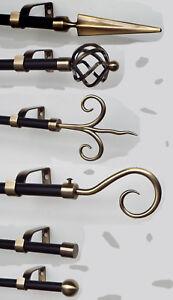 Gardinenstange-Afrika-komplett-aus-Metall-16-mm-Durchmesser-im-Kolonialstil