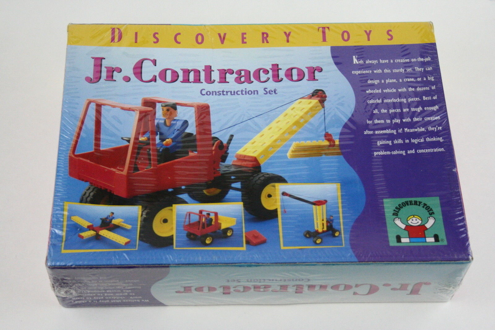 Jr Contractor Construction Set Building Building Building Toy - 1997 Discovery Toys 3262 - NEW 6ca5f0