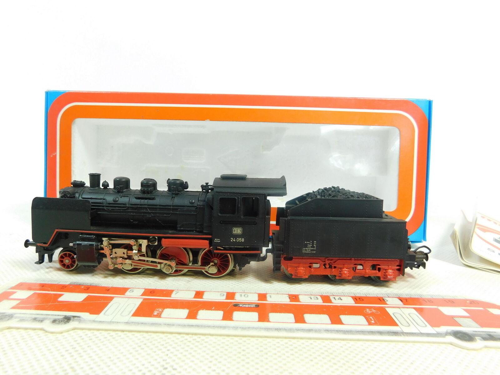 BT35-1  Märklin H0 AC 3003 Dampflok Dampflokomotive 24 058 DB, sehr gut+OVP