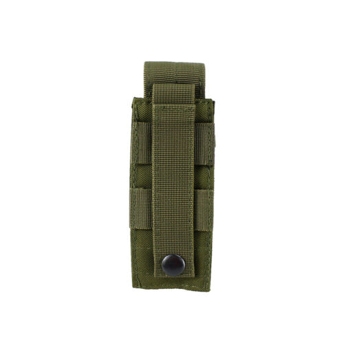 Details about  /US Molle Single Mag Pouch Open Top Pistol Clip Tool Pouch Green