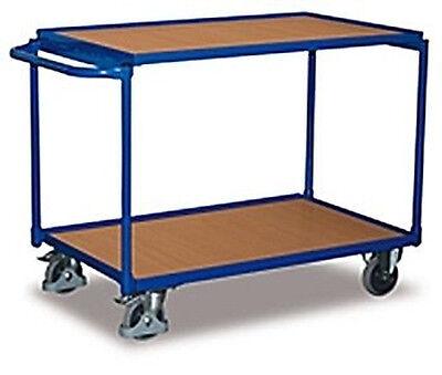 variofit leichter Tischwagen 2 Ebenen Transportwagen sw-500.501 sw-600.501