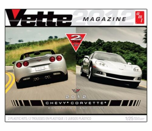 AMT-Vette-2012-Chevy-Corvette-coupe-and-convertible-1-25-model-kit-comes-with-co