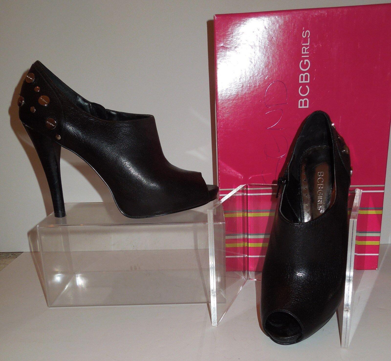ultimi stili BCBGirls  DANA2  Pebbled Pebbled Pebbled Leather Studded Open Toe Platform scarpe avvioie 7.5M  consegna veloce