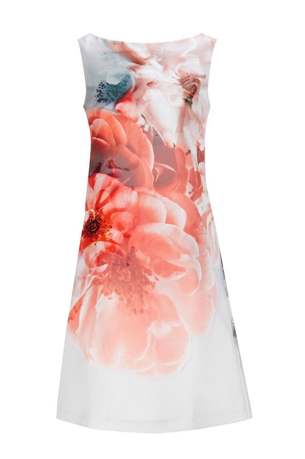 Wallis zaffiro rosa floreale tunica Maiusc Abito Taglia RRP  DH094 AA 05