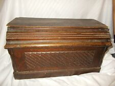 Vintage Old Antique Wooden Singer 3/4 Size Cover for Treadle Sewing Machines