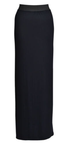 LADIES JERSEY LONG MAXI GYPSY CELEB INSPIRED BODYCON SKIRT PLUS SIZE 8-26