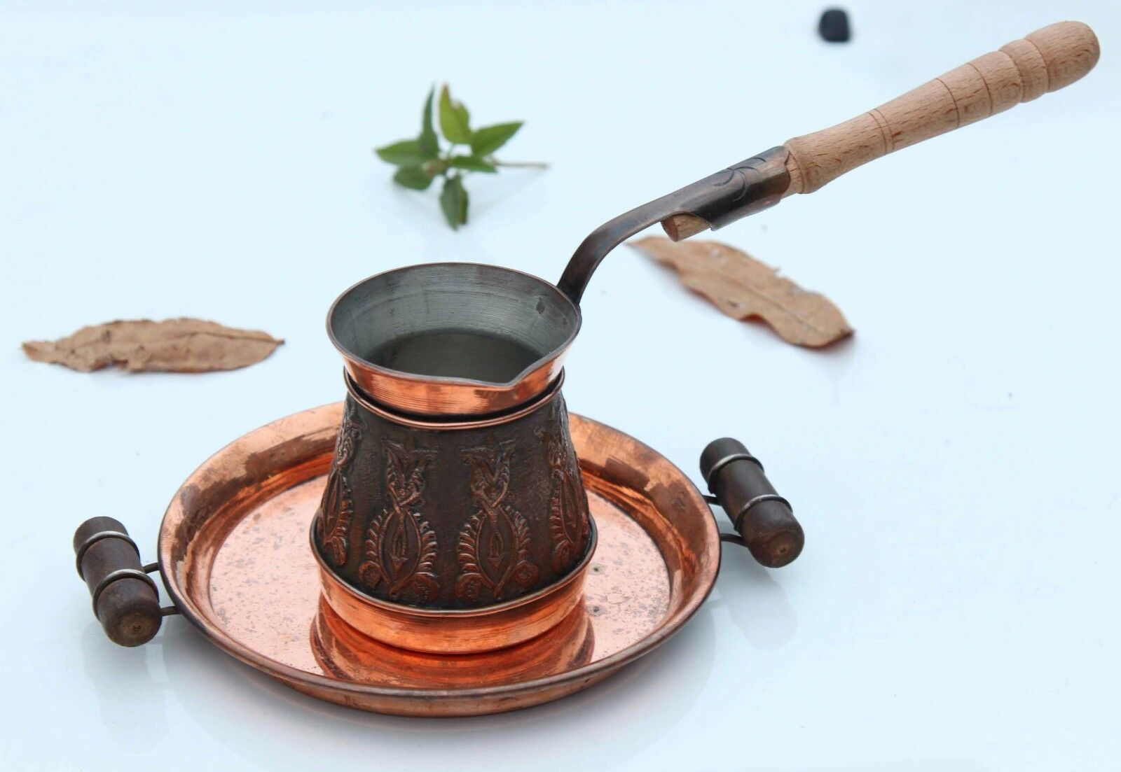 5-6 Tasse 16 Oz (environ 453.58 g) ancien Arménien Turc Coffee Maker Cezve ibrik Arménie jezve