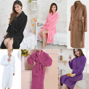 a7f31387d0 Image is loading Unisex-Womens-Mens-TERRY-TOWELLING-Bath-Robes-Dressing-