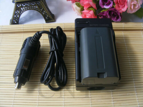 2xCGR-D08S Battery+Charger For Panasonic NV-DS55 NV-DS60 NV-DS60EG NV-DS65 DS68